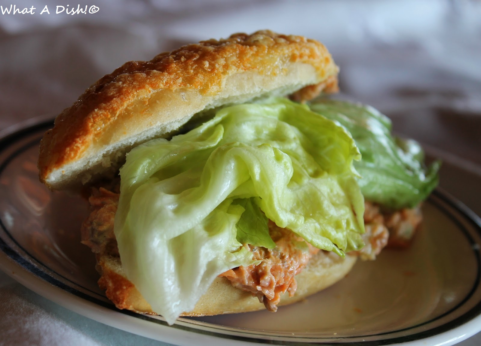 how to make salmon sandwiches from canned salmon