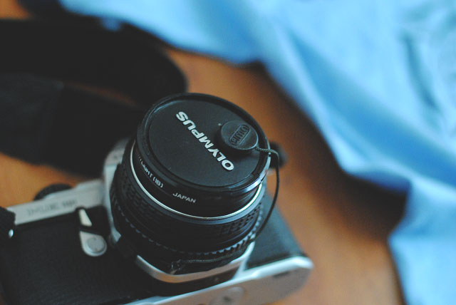 vintage olympus camera