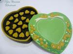 Coklat Love Box Flower-Saiz XL