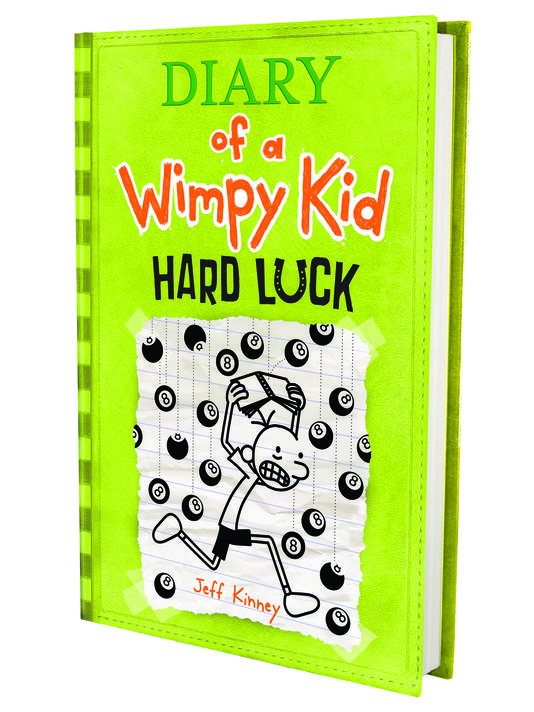 Diary of a Wimpy Kid Hard Luck by Jeff Kinney