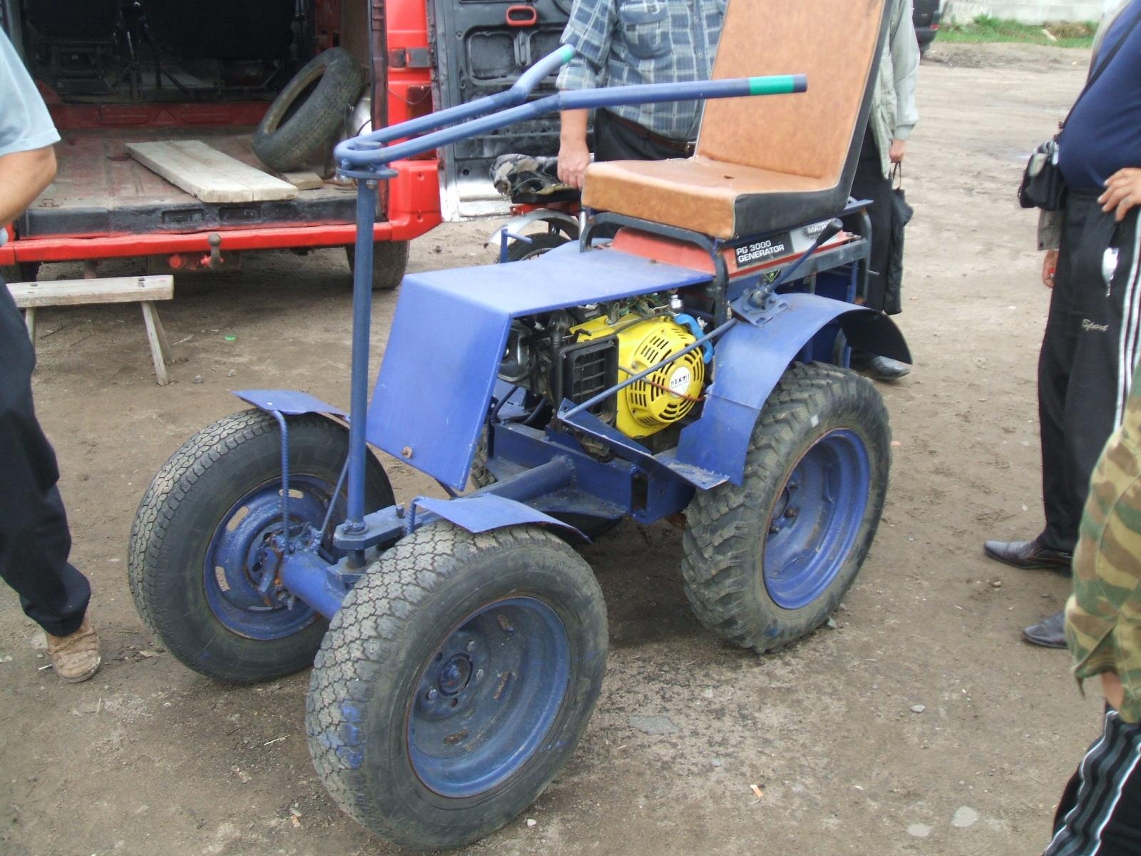 Самодельные тракторы и минитракторы своими руками 85