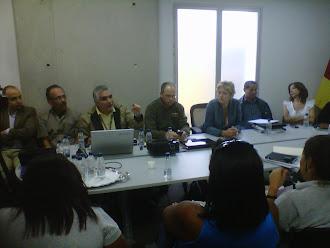 Reunion con el gabinete de gobierno del Estado miranda