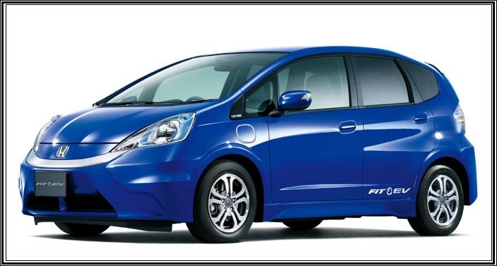 New cars honda fit ev review for Honda fit electric