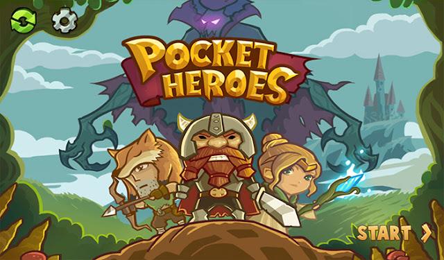 Pocket Heroes v1.1.8 Apk Mod [Dinero]