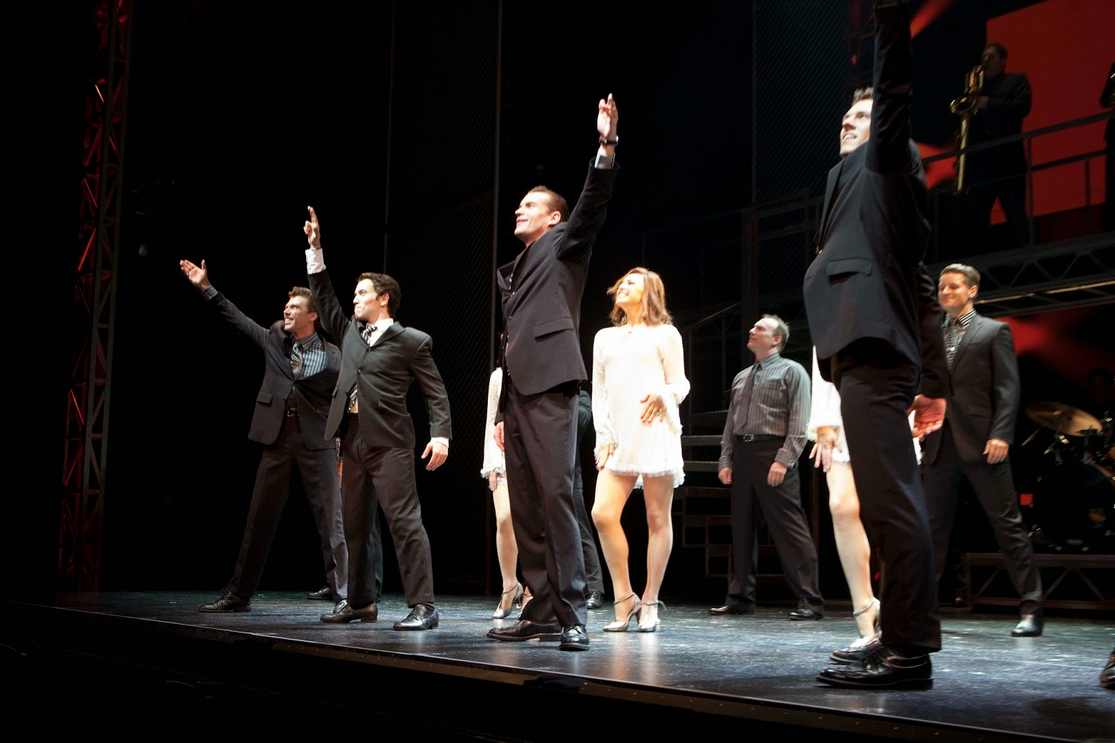 Jersey Boys opens at the