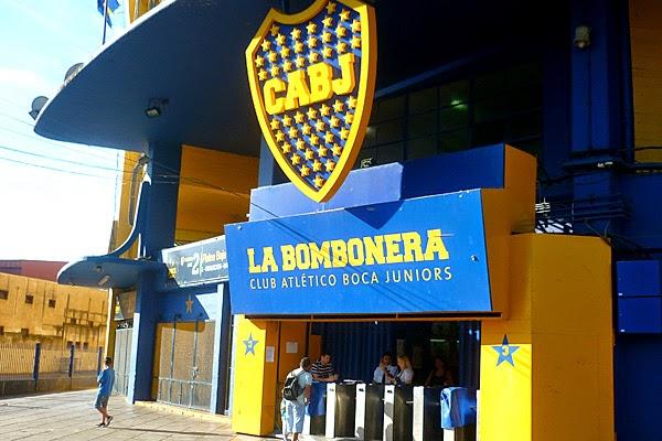 Entrada La Bombonera em Buenos Aires