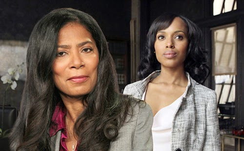 Olivia Pope With Judy Smith
