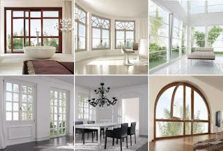 ventanas modernas y estilos