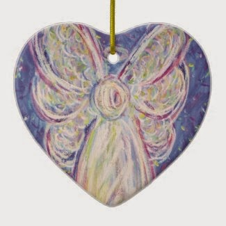 Starry Night Angel Ornament