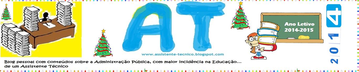 Projeto ( Blog ) de Assistente Técnico da Administração Pública - Assistente Administração Escolar