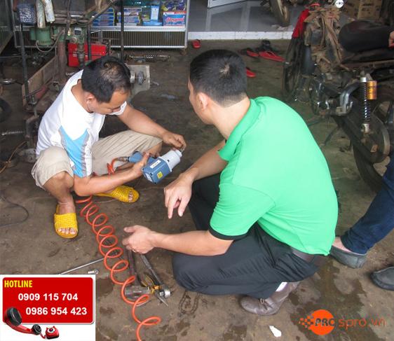 Tư vấn mở tiệm sửa xe máy, xe tay ga, súng xiết bulong