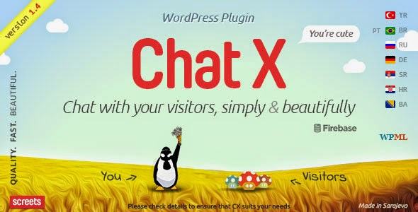 Chat X v1.4.1 - WordPress Chat plugin for Sales & Support Free Download