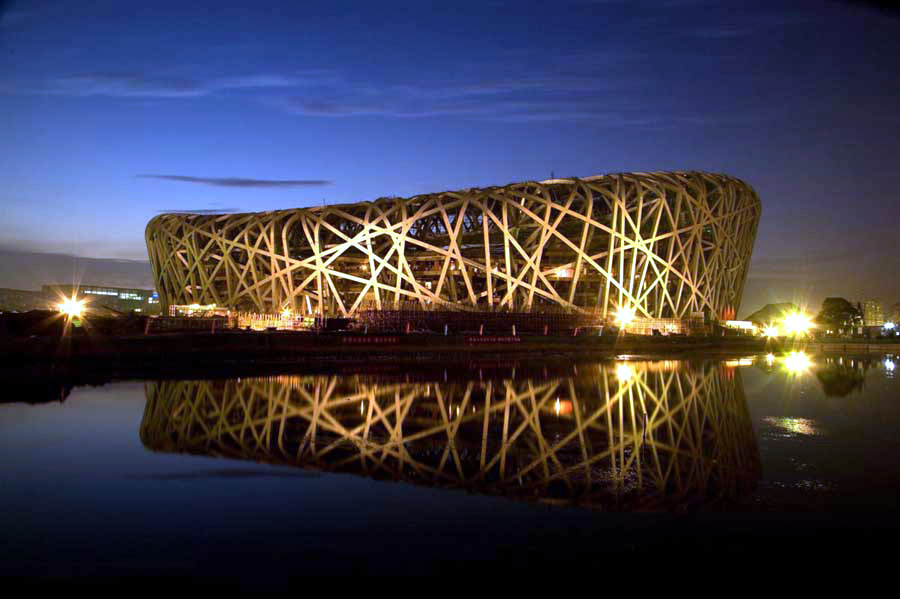 Most fantastic spectacular buildings in the world for The bird s nest stadium