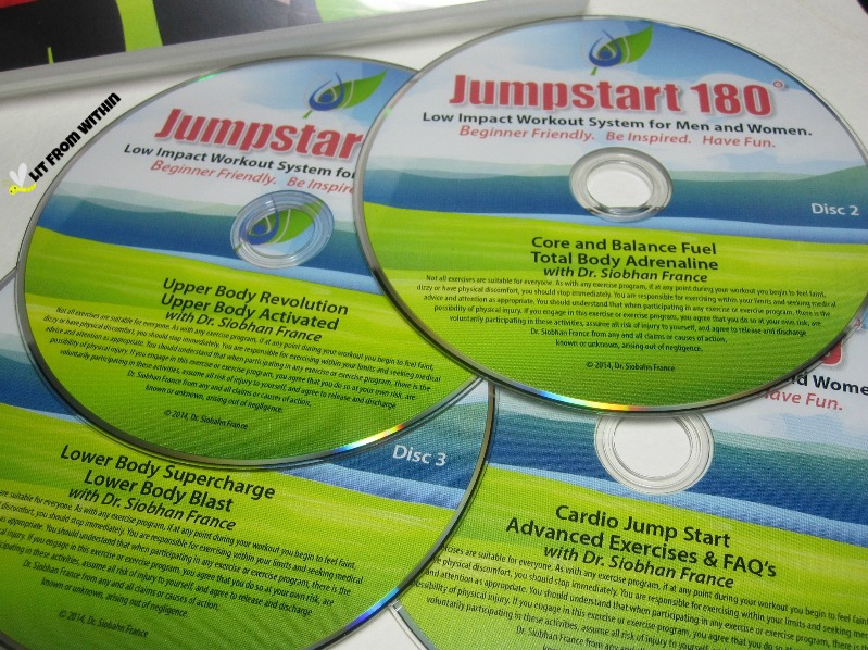 Jumpstart 180 Exercise for Seniors disks