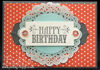 Your Amazing Birthday Card by Stampin' Up! Demonstrator Bekka Prideaux - Buy Stampin' Up! here