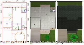 Renovasi Rumah Tipe 45 Tanah 84m2 (2 Lantai, 4 Kamar Tidur, 2 Kamar Mandi)