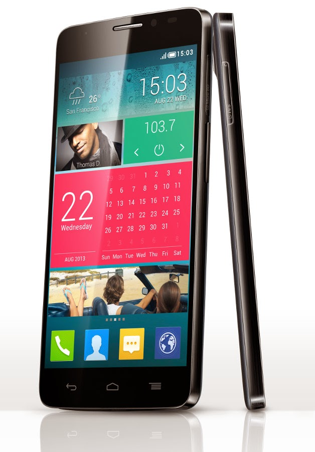 Material y Diseño, Alcatel One Touch Idol X
