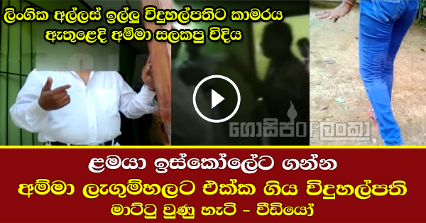Principle Arrest in Horana - (Watch Video)