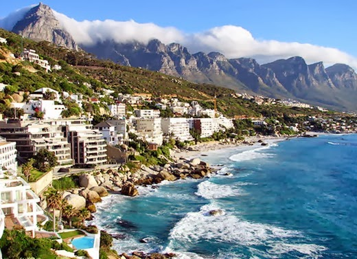 Cape Town South Africa 10 cities to visit in the year 2014