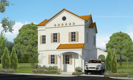 desain rumah bentuk rumah gaya italia