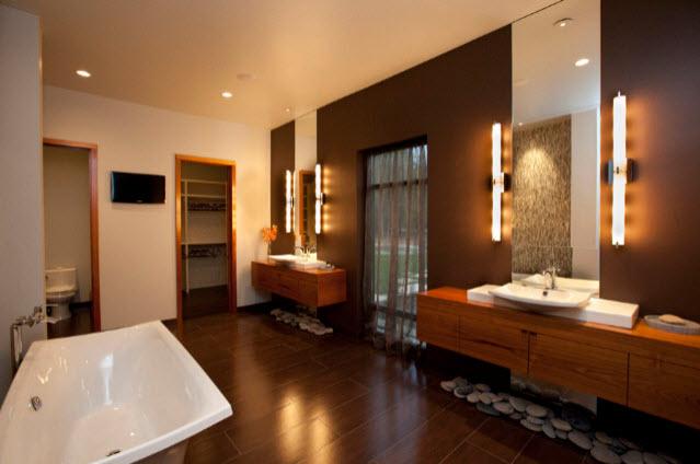 Moderne badezimmer einrichtungen