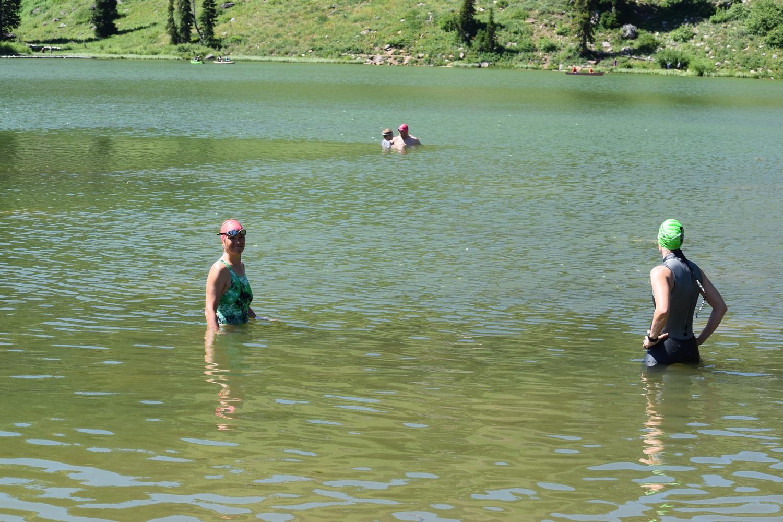 Kids Swimming In A Lake salt lake open water (slow): salt lake open water summer swim camp