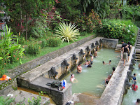 Natural Hot Spring at Banjar