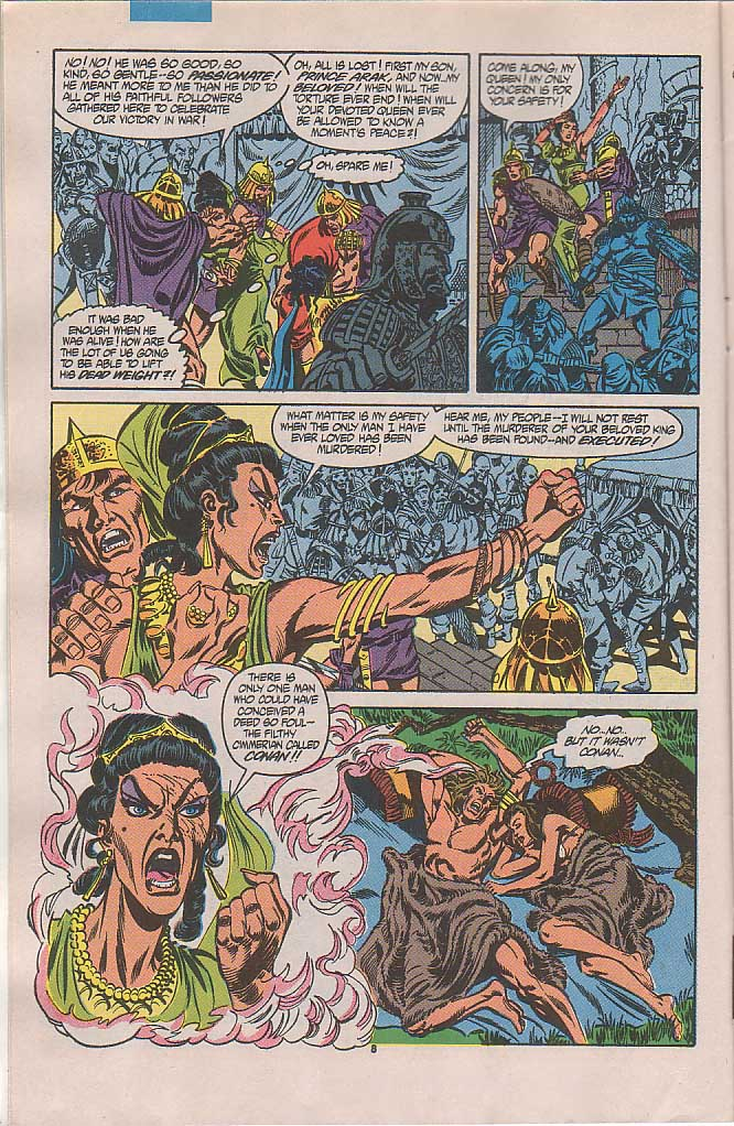 Conan the Barbarian (1970) Issue #238 #250 - English 7
