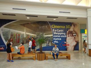 Hall de entrada dos cinemas será liberado.
