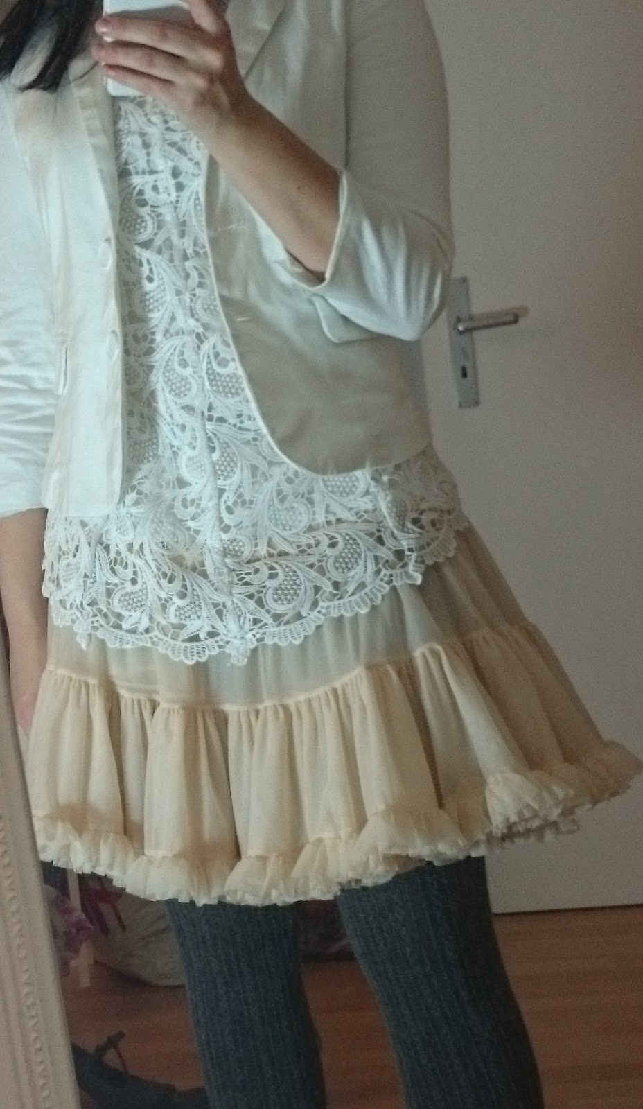 Petticoat Outfit White Lace