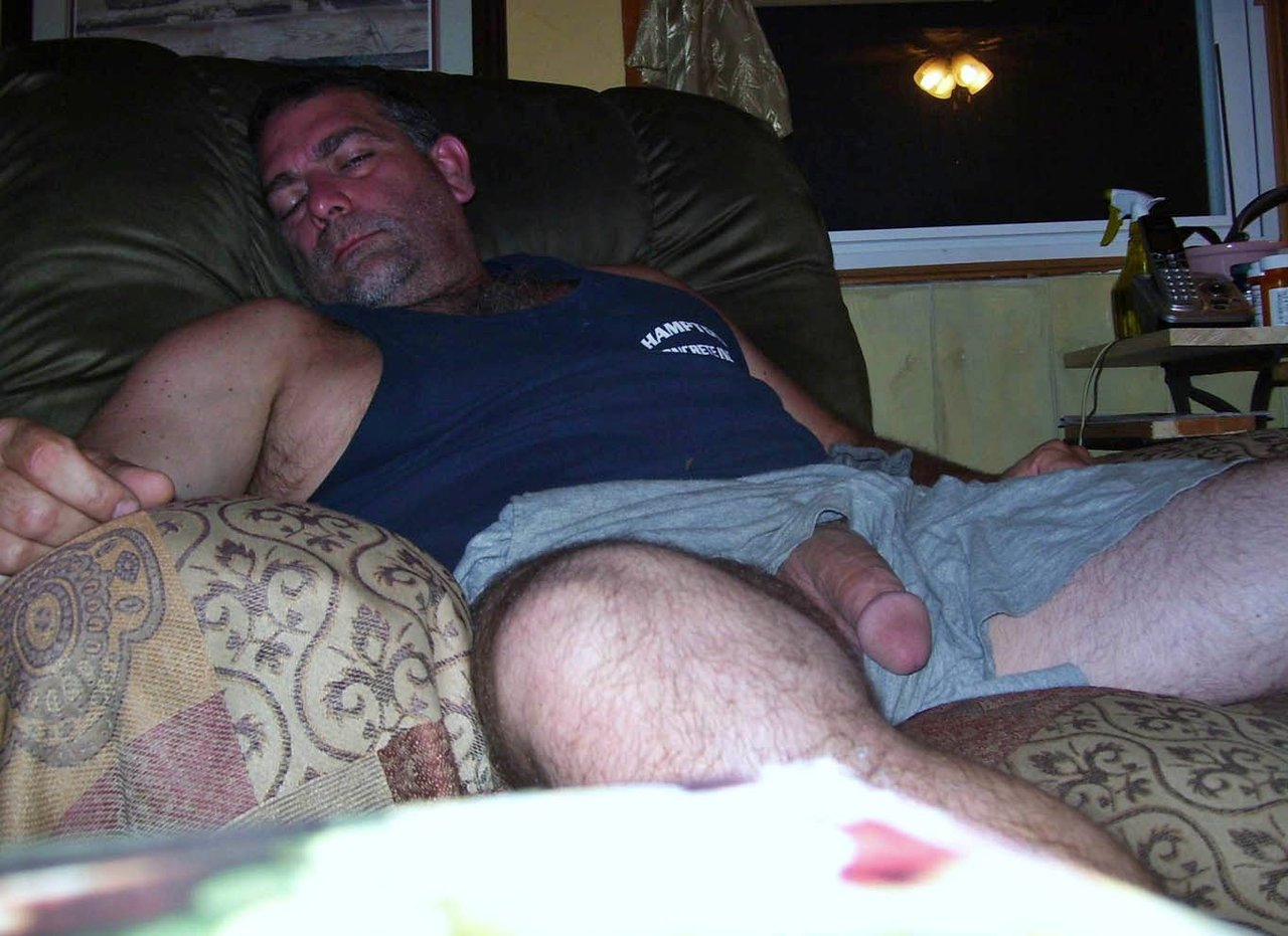 my dad nude
