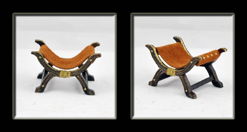 Miniaturas del minimundo de paco tronos y sillas for Sillas para ferias