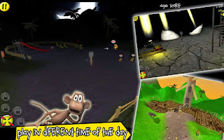 Screenshots of the Smash The Monkey for Android tablet, phone.