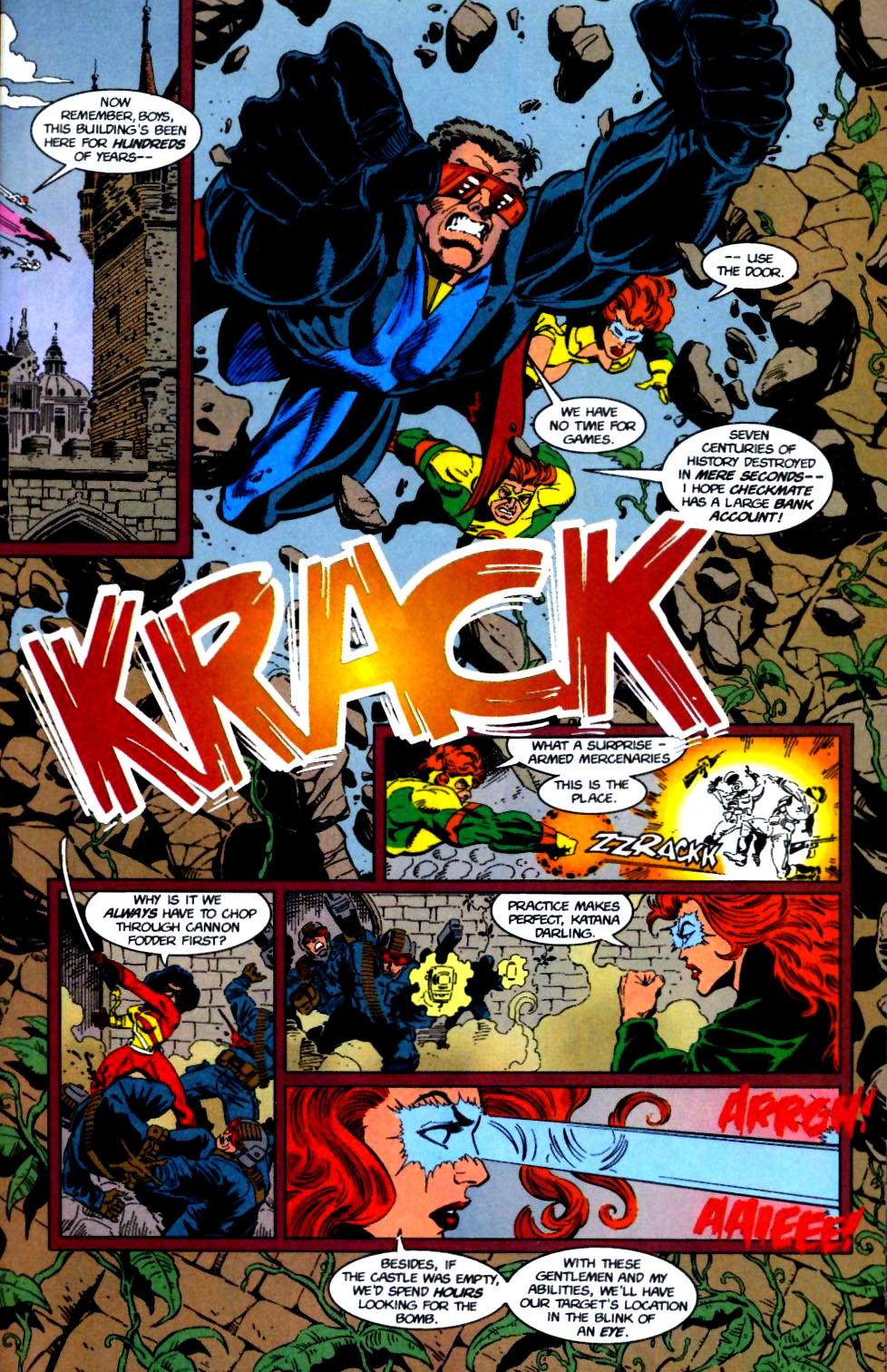 Deathstroke (1991) Issue #50 #55 - English 8