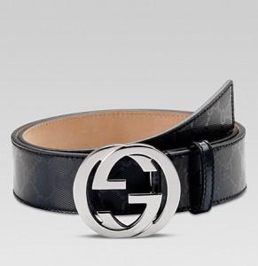 Cinturones Gucci Negro