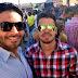 Francisco Carlos e Heitor Lukas participam de ação solidária promovida por Jackson Barreto