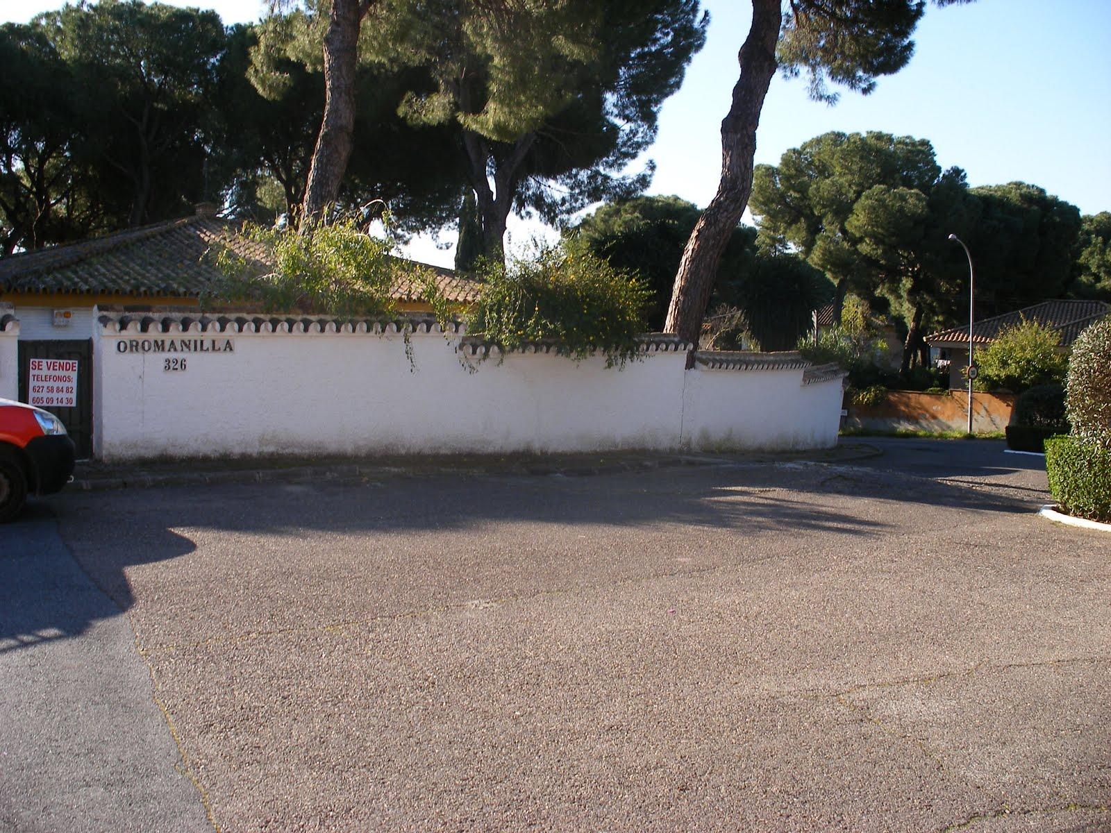 Chalet oromanila fotos del exterior de la parcela - Fotos de parcelas ...