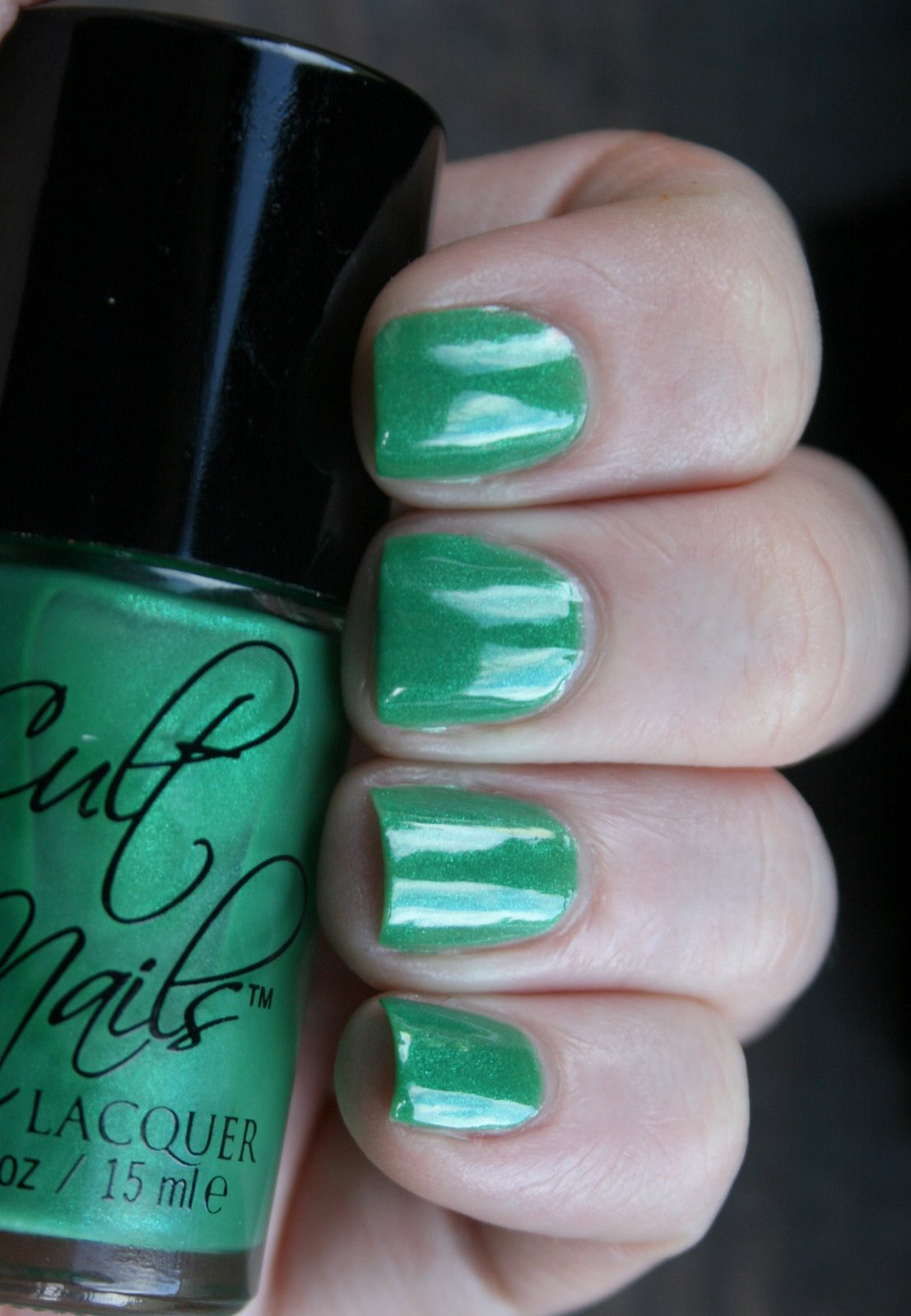 Cult Nails Feelin' Froggy Swatch