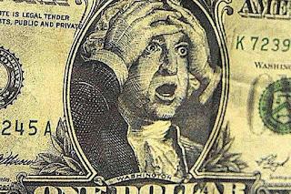 Esik a pénz árfolyama.