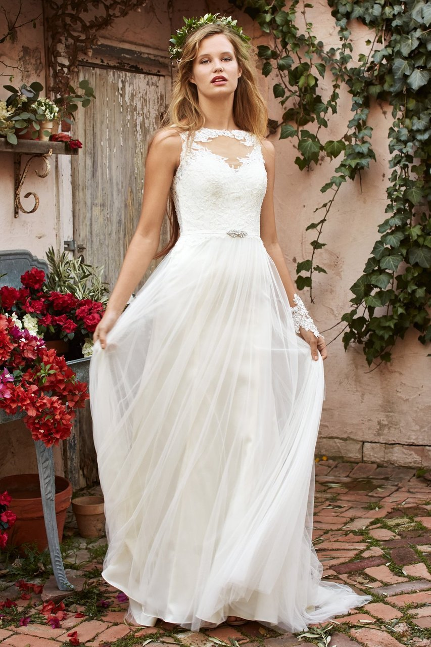 Non Strapless Wedding Dresses Under 1000 2014 500
