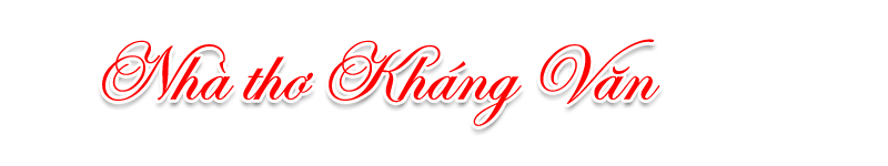 Nhà thơ Kháng Văn