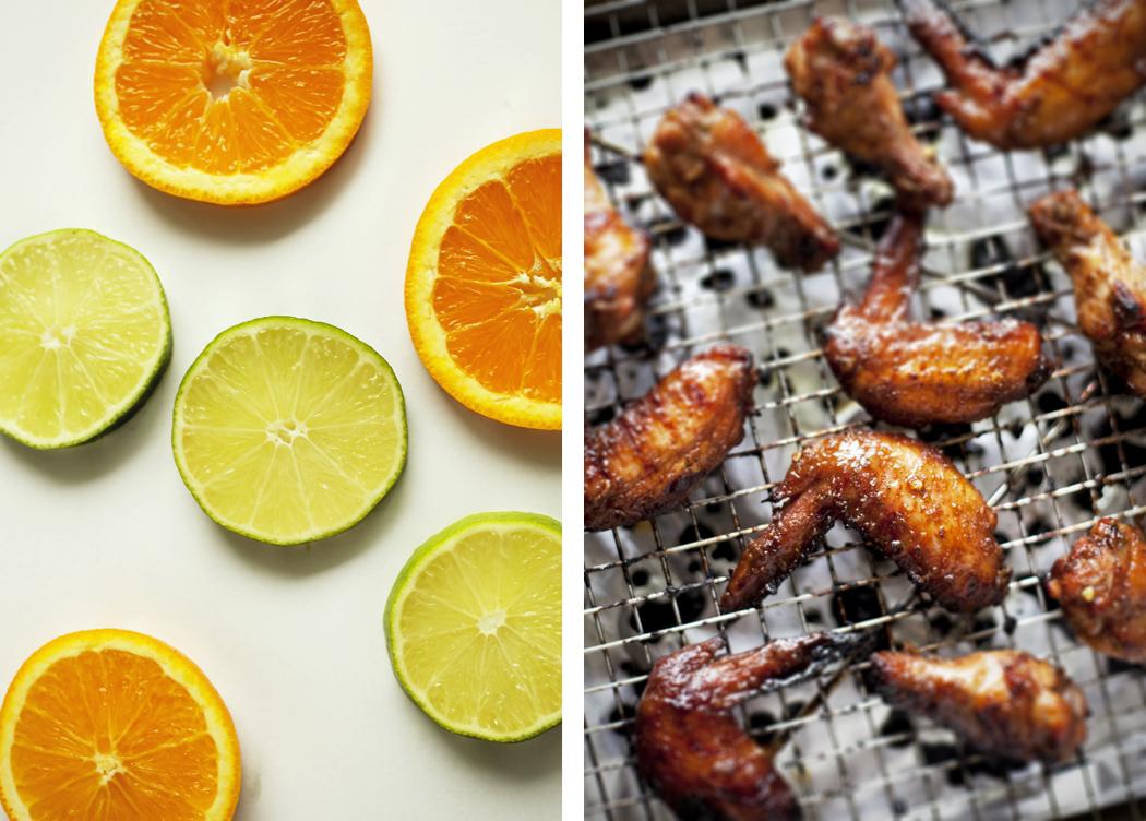 Caribbean Chicken Wings | Jasmine Tea
