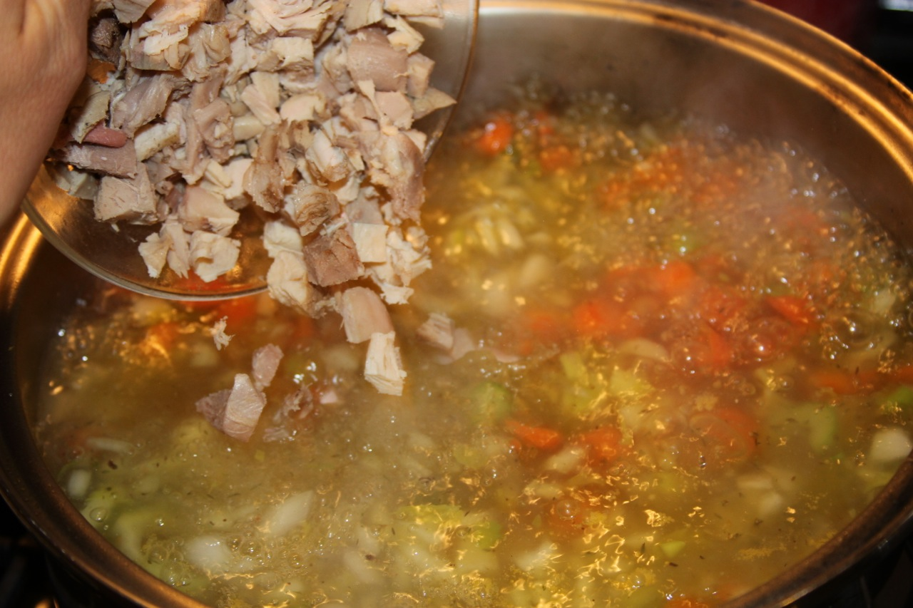 Turkey Noodle Soup - Cooking With Ruthie