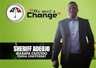 Sherrif Adeojo- The Needed Change