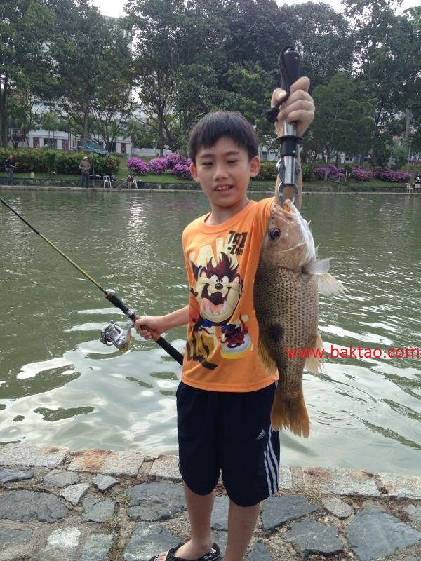 Baktao heaven pasir ris event pond private booking for Private fishing ponds near me