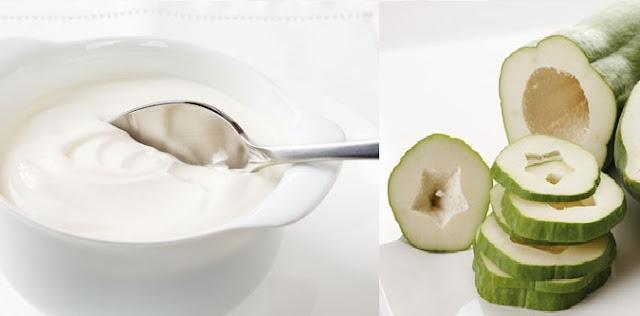 cách trị nám da bằng đu đủ sữa chua