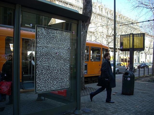 Street halohalo quando la street art uno svarione - Gtt torino porta nuova ...