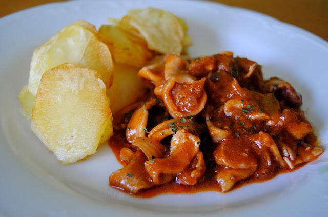 calamares en salsa americana asopaipas recetas de On calamares en salsa americana