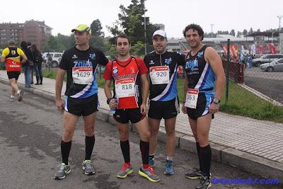 Media maratón gijón,David Villoria, de todo un poco