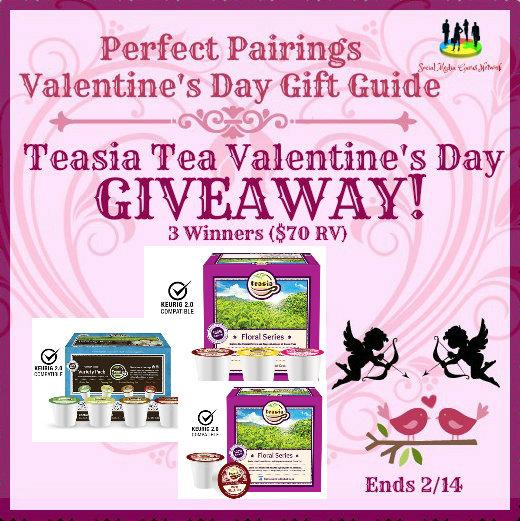 Teasia Tea Valentine's Day